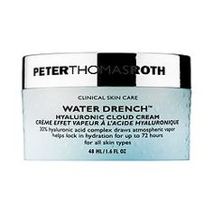New Peter Thomas Roth Water Drench Hyalronic Cloud Cream. Hydration for all skin types