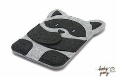 Raccoon from Hooby Groovy Land - iPad Mini Case. $49.95, via Etsy.