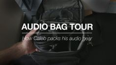 Caleb's Audio Bag. Thought I would give you guys a tour of my audio bag. In this video you'll see everything I use for audio except XLR cabl...