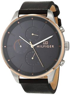 Shop the latest collection of Tommy Hilfiger Men's Chase Chronograph Leather Bracelet 1791488 from the popular stores - all in one Tommy Hilfiger, Unique Clocks, Seiko Men, Ring Verlobung, Unisex, Stainless Steel Bracelet, Quartz Watch, Chronograph, Bracelet Watch