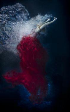 """Hiding Beneath the Bubbles"" — Photographer: Lori Cicchini - Loriana FotografiaDesigner: Tarese KlemensJewelry: Divine GoddessMakeup: Liz BombenModel: Paris YvesWardrobe Assistant: Erika ZorzitAssistant: Steven Lloyd"