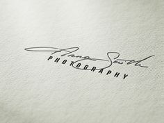 Custom signature logo handwritten initials by jacobandjacobdesigns