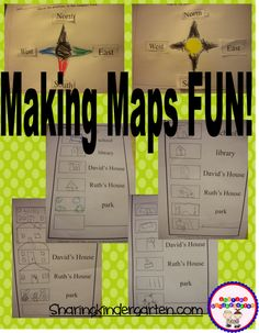 Making Maps FUN! More making ideas for little learners