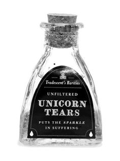 unicorn tears - potion ingredient for HP party? :)
