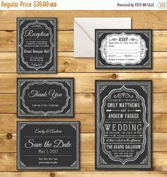 Printable Wedding Invitation Suite  Wedding Suite  by birDIYdesign