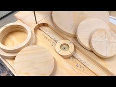 Norm Abrams Bandsaw Circle Cutting Jig