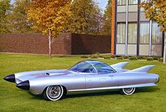 1959 Cadillac Cyclone Concept Car - Promotional Photo Poster