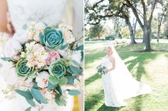 We love this creative bouquet. | Napa Valley Wedding |