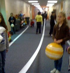 Yes! Today we used toilet paper to learn about science! How fun is that? To better understand how far from the sun each planet is we made a ...