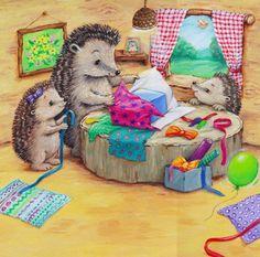 Cee Biscoe - hedgehogs_presents.jpg