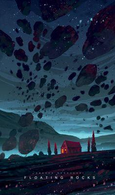 Floating Rocks by Andrea Koroveshi