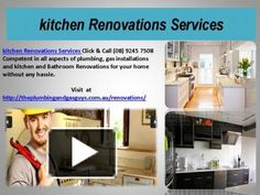 http://theplumbingandgasguys.com.au/renovations/ Click & Call (08) 9245 7508 Competent in all aspects of plumbing, gas installations and kitchen and Bathroom Renovations for your home without any hassle.