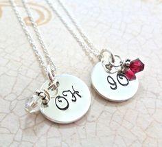 Ohio State Necklace Best Buckeye Friends