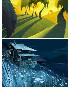 Conheça os bonitos cenários de Wendy Park | THECAB - The Concept Art Blog