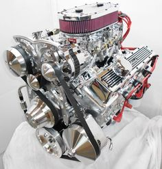 Chevy 350/45hp Dual Quad  http://www.enginefactory.com/Horsepowerchoices.htm