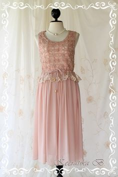 Sale Last Piece  Marie  Mid Maxi Dress by LovelyMelodyClothing, $45.00