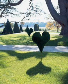 The Grove's heart hedge
