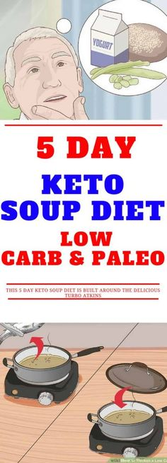 5 Day Keto Soup Diet – Low Carb and Paleo