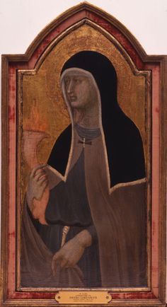 "The Frist Center for the Visual Arts will have our ""St. Clare,"" by the Loeser Master (GMOA 1961.1890) on display in ""Sanctity Pictured: The Art of the Dominican and Franciscan Orders in Renaissance Italy,"" Oct. 31, 2014–Jan. 25, 2015."