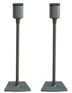 Buy Sanus Wireless Speaker Stand Designed for SONOS Play 1 and Play 3 Speakers 2 Pack Black Sonos Speaker Stand, Sonos Speakers, Home Speakers, Speaker Stands, Hifi Audio, Wireless Music System, Sonos Play 1, Home Entertainment Furniture, Speaker Mounts