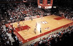 The Field House - Madison, WI.  (Wisconsin Badgers Basketball)