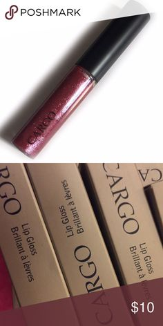 CARGO• Madrid• Lip Gloss Brilliant a Levres Cargo• Lip Gloss Brilliant a Levres• Madrid  Description: • Brand: CARGO • Color: Madrid • Size: Full • Product details: Lip gloss perfected! Clinically proven to provide up to 6 hours of staying power. High content of shining agents for ultimate brilliance. Keeps lips moisturized & soft w/ Vitamin E.  •Price Firm•  •• Photos: Actual product always featured, some Sephora/ULTA/etc may be included.  •  Authentic•Brand new•✔️Bundle discount ❌bundle…