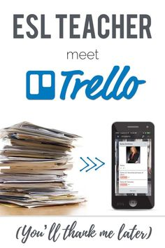TRELLO for TEFL is the holy-moly-how-have-I-lived-without-this life hack for ESL / EFL teachers. This is how I manage my lessons plans, materials, schedules, syllabi, all in one free online app. Esl Lessons, Lessons For Kids, Piano Lessons, Esl Lesson Plans, Esl Resources, Classroom Resources, Importance Of Time Management, Apps, Online Programs