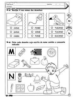 Atividades educativas M e N