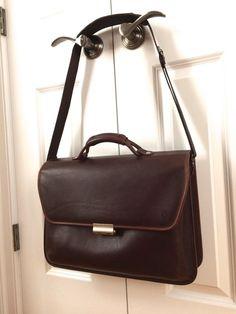 Hartmann Leather Barrister Lawyer Briefcase by Lombardo Locks   Shoulder  Strap (eBay Link) Lawyer a295b102ef000