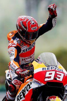 Take a deep breath, let's disappear  Marc Marquez, Repsol Honda, MotoGP