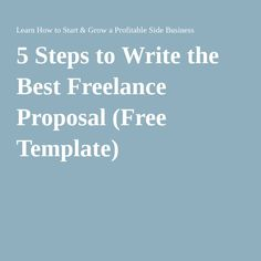 Most Common Freelance Proposal Mistakes  Project Proposal