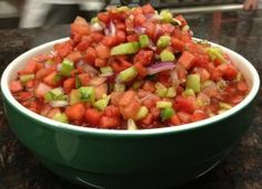 Love watermelon? Try watermelon salsa or watermelon salad. Yum!    www.self.com