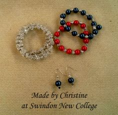 Made by Christine at Swindon New College.