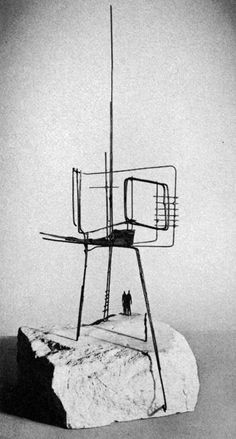 Reg Butler /Project for Monument to the Unknown Political Prisoner, 1951-1952
