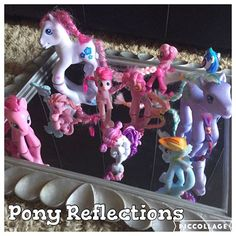 Pony Reflections {I set up this fun activity for Bree to explore reflections when she wakes up from her nap!} {Thanks for this cute idea @creativeplayideas } . . . . #preschoolathome #preschoolwithmommy #todderactivity #toddleractivities #toddlerfun #toddlerplay #toddlerreflections