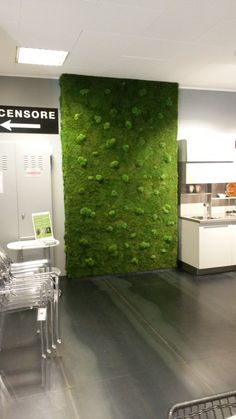 #ParetiVegetali by #LinfaDecor | Stabilized #plant walls and #panels. No water, no sunlight, no soil, no leaves fall. #Vegetal #handmade #greenwalls #interior #design #architecture #verdeverticale #green