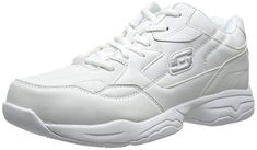 Shop a great selection of Skechers Women's Work Relaxed Fit: Felton - Albie SR Shoe. Find new offer and Similar products for Skechers Women's Work Relaxed Fit: Felton - Albie SR Shoe. Walking In High Heels, Walking Shoes, Best White Shoes, Top Shoes For Men, Skechers Work, Shoes Skechers, Nursing Shoes, Stiletto Shoes, Beach Shoes