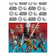 Star Wars Rebels Table Cover $8.95 A571841 Wholesale Party Supplies, Printed Balloons, Star Wars Rebels, Stars, Cover, Table, Blankets, Desk, Star