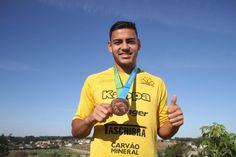 Rádio Web Mix Esporte&Som: Nova Prata: Gustavo Barreto foi bronze no Pan