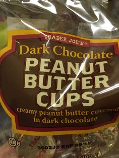 Oh my goodness!! I love these! Trader Joes dark chocolate peanut butter cups