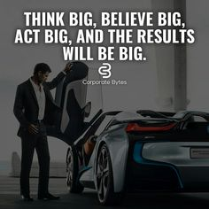 What's the point of thinking if you're not thinking BIG. Hustle Quotes, Motivational Quotes For Life, Positive Quotes, Inspirational Quotes, Mindset Quotes, Leadership Quotes, Success Quotes, Millionaire Quotes, Millionaire Lifestyle