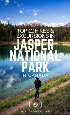 A list of some of the best and most popular hikes in Jasper National Park in Canada. Includes Information about the trail lengths and an interactive map of the trailheads. Jasper National Park, Banff National Park, Vancouver Island, Alberta Travel, Canada Destinations, Hiking Tips, Hiking Routes, Canada Travel, Canada Trip