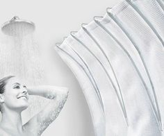 Stop feeling claustrophobic the next time you go to batheby giving yourself extra room using the shower curtain space extender. This ingenious device curves the curtain so that you get up to 50% more space to move around in, allowing you to shower in total comfort.