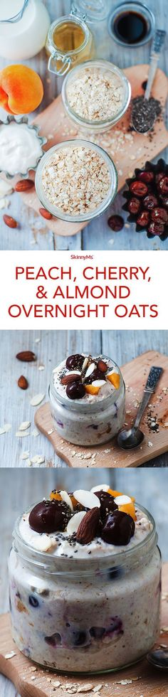 Simply combine the ingredients and leave overnight in the fridge so you can wake up to a high protein and fiber breakfast sure to keep you going all morning long. Enjoy!
