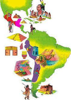 América Latina antes de la conquista.