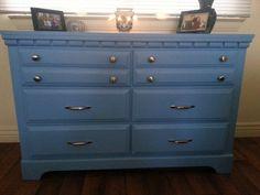 Upcycled dresser!
