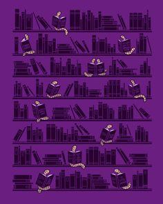 Readers bookworm / Lectores devoradores de libro