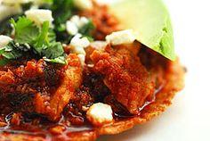 recipes for tacos images | Pork and Chorizo Tacos (Tinga De Puerco Tacos) Recipe - Saveur.com