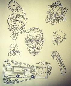 1000 ideas about breaking bad tattoo on pinterest bad tattoos game of thrones tattoo and tattoos. Black Bedroom Furniture Sets. Home Design Ideas