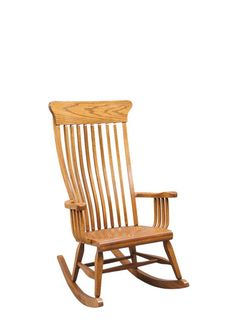 Spend cherished time together with your little loved one in our Amish Old South Rocking Chair. Its charm is the perfect place to create memories to last a lifet Amish Furniture, Rustic Furniture, Furniture Making, Furniture Chairs, Amish Rocking Chairs, Wooden Rocking Chairs, 4 Chair Dining Table, How To Varnish Wood, Party Chairs